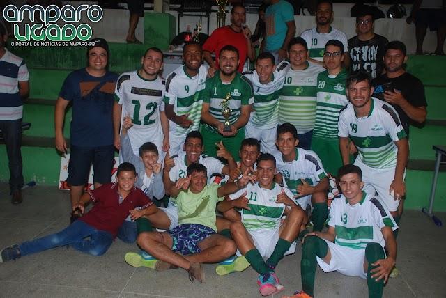 Equipe Net Mais venceu Monteirense e conquistou o titulo da Copa Amparense de Futsal 2017