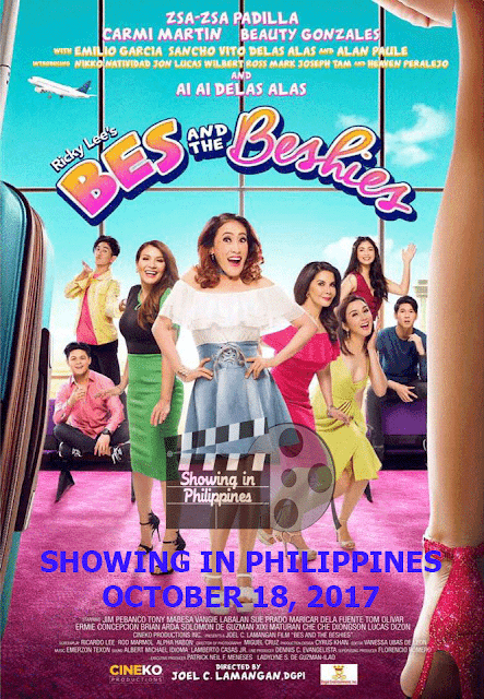 Bes and the Beshies in PH Cinemas on October 18, 2017