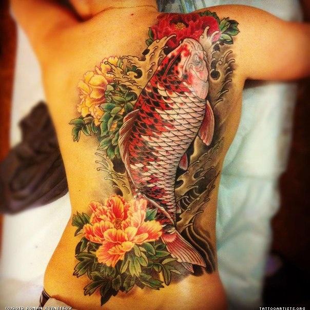 Significado Da Carpa Significado Das Tatuagem