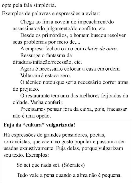 Palavras, frases, períodos, parágrafos