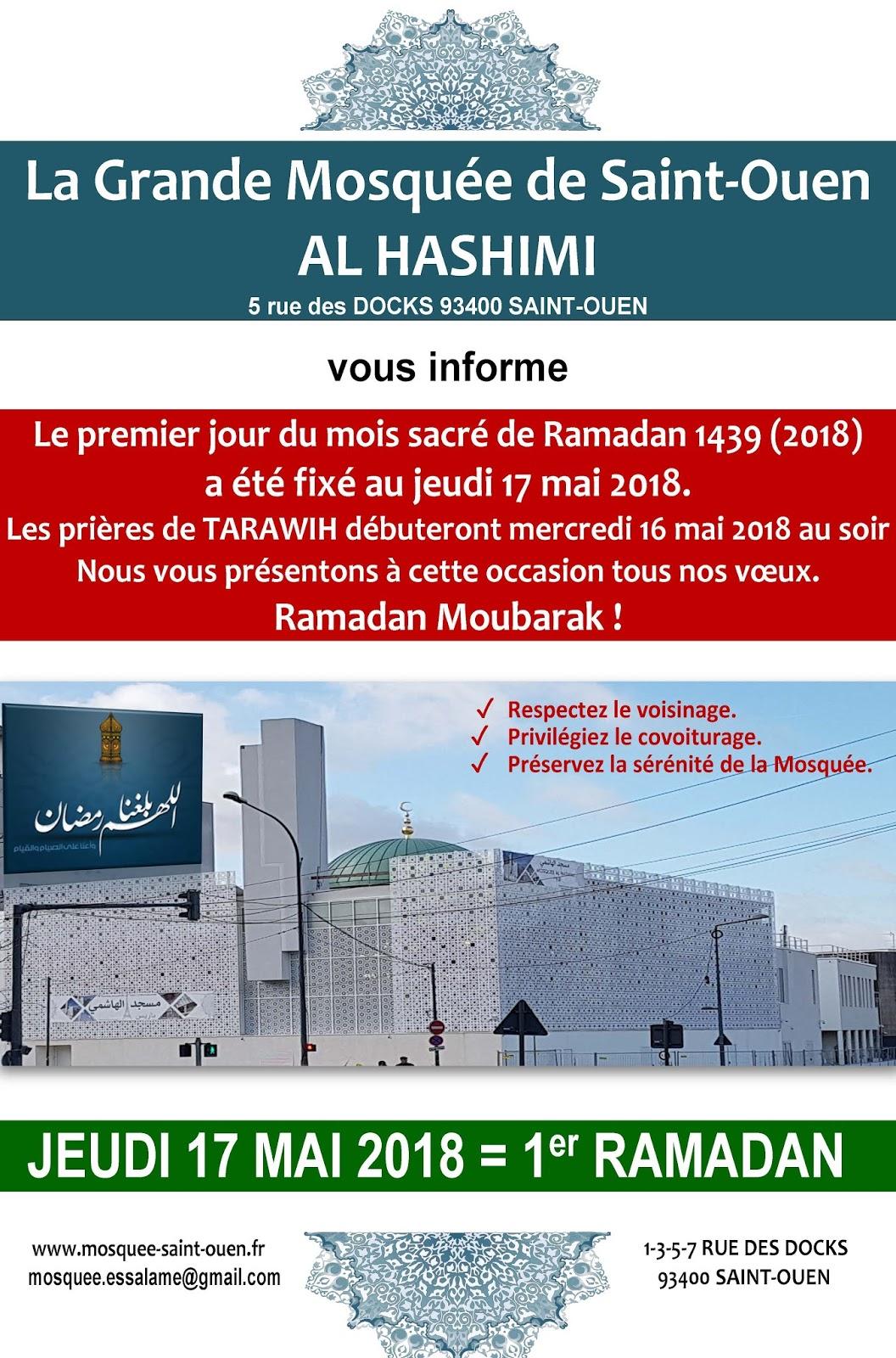 La Grande Mosquée De Saint Ouen