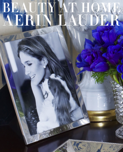Beauty at home [AERIN]