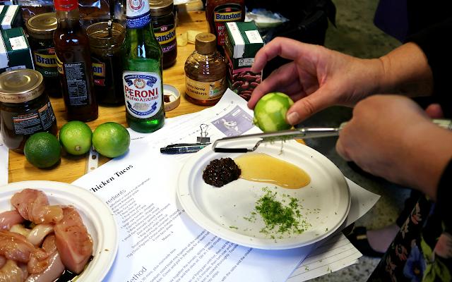 Branston BBQ Workshop Tex-Mex Chicken Tacos Recipe