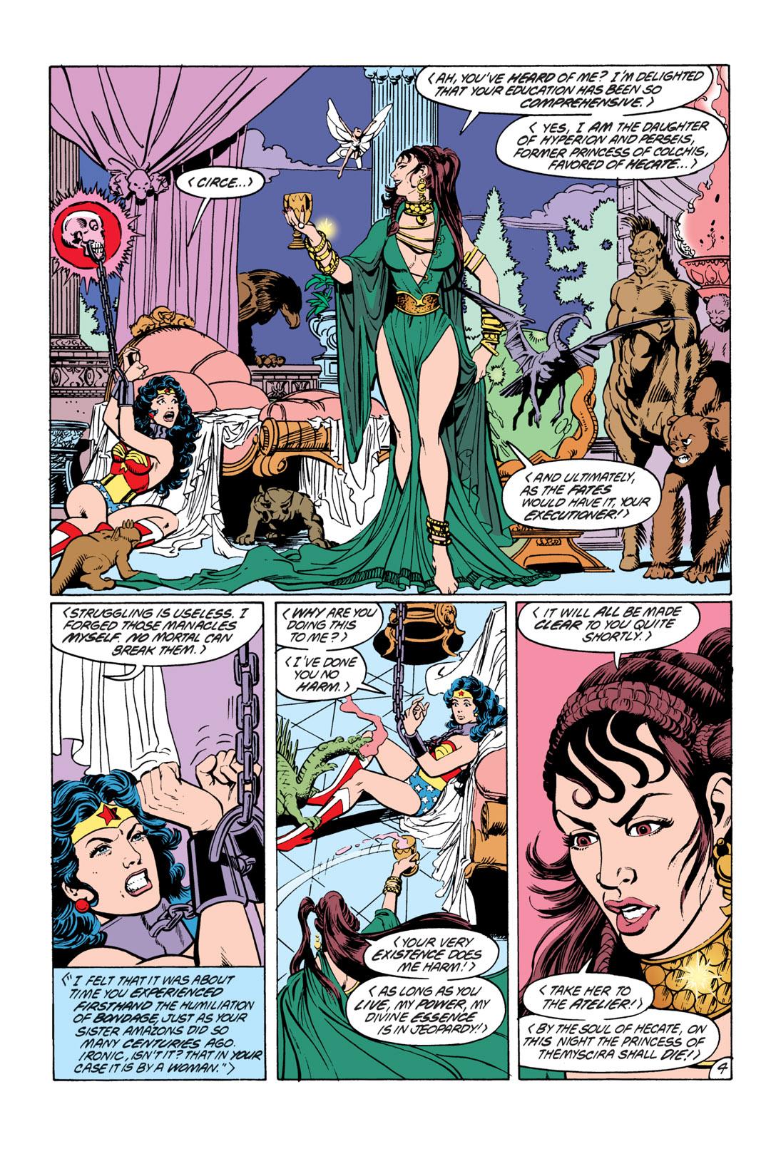 Read online Wonder Woman (1987) comic -  Issue #19 - 5
