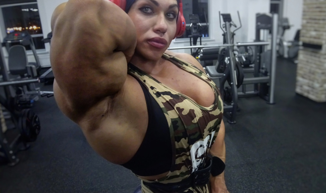 Girls with muscle, Natalia Kuznetsova