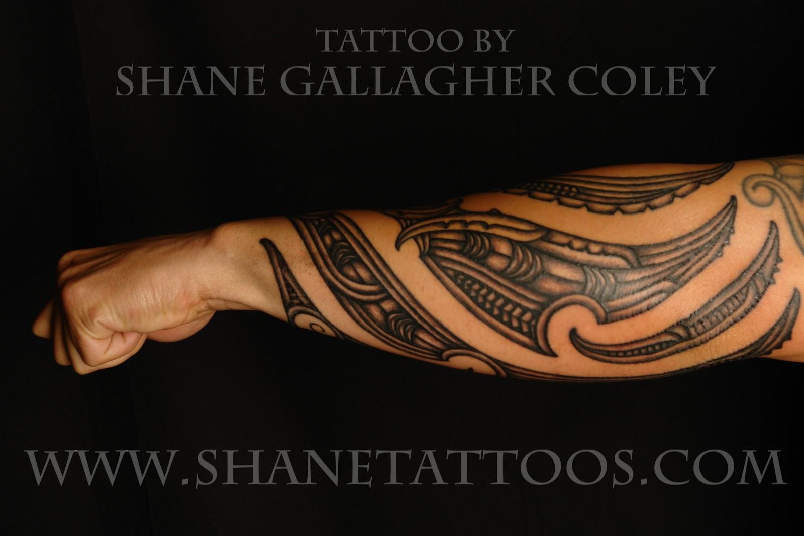 Maori Tattoo Forearm Designs: Maori Tattoo Gallery: Maori Forearm Tattoo/TaMoko