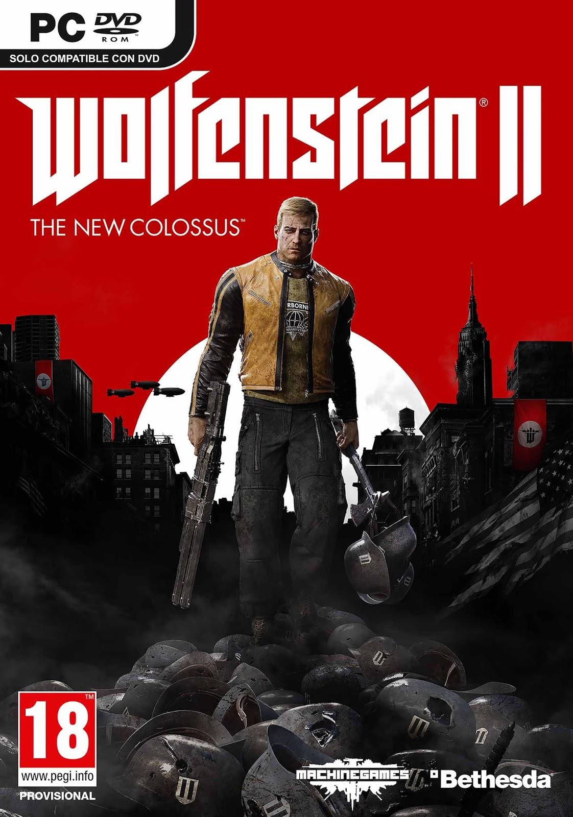 Wolfenstein II The New Colossus PC Full ESPAÑOL