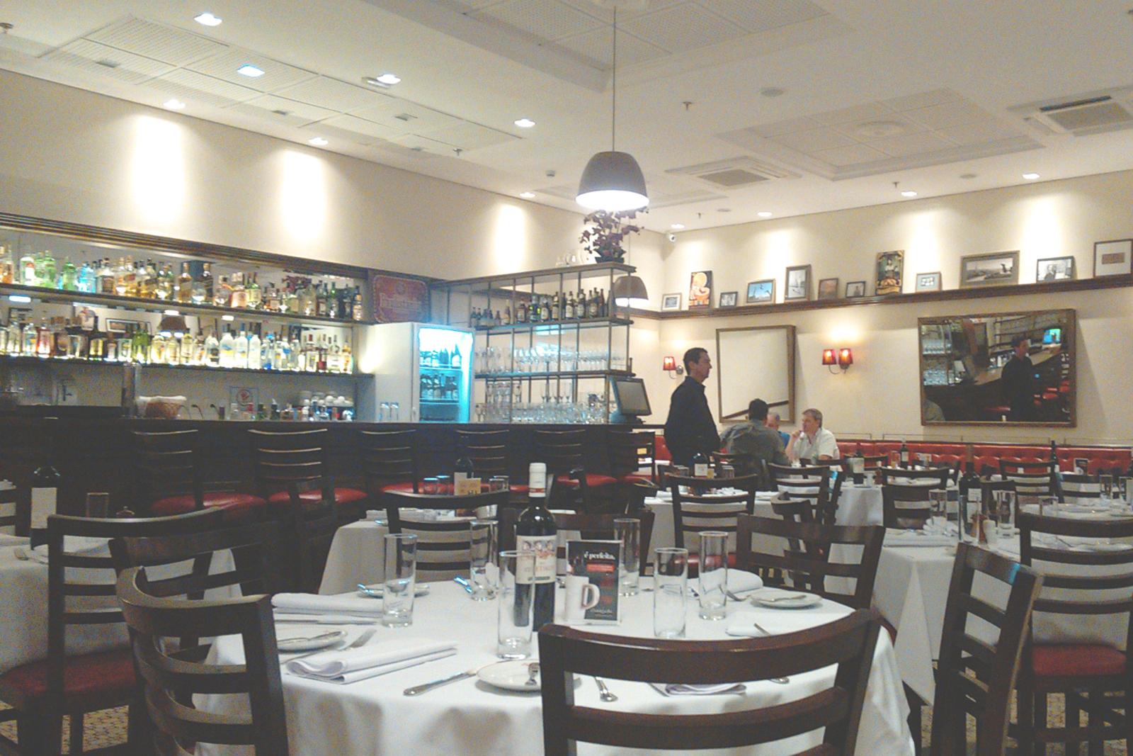 interior restaurante L'Entrecôte de Paris campinas