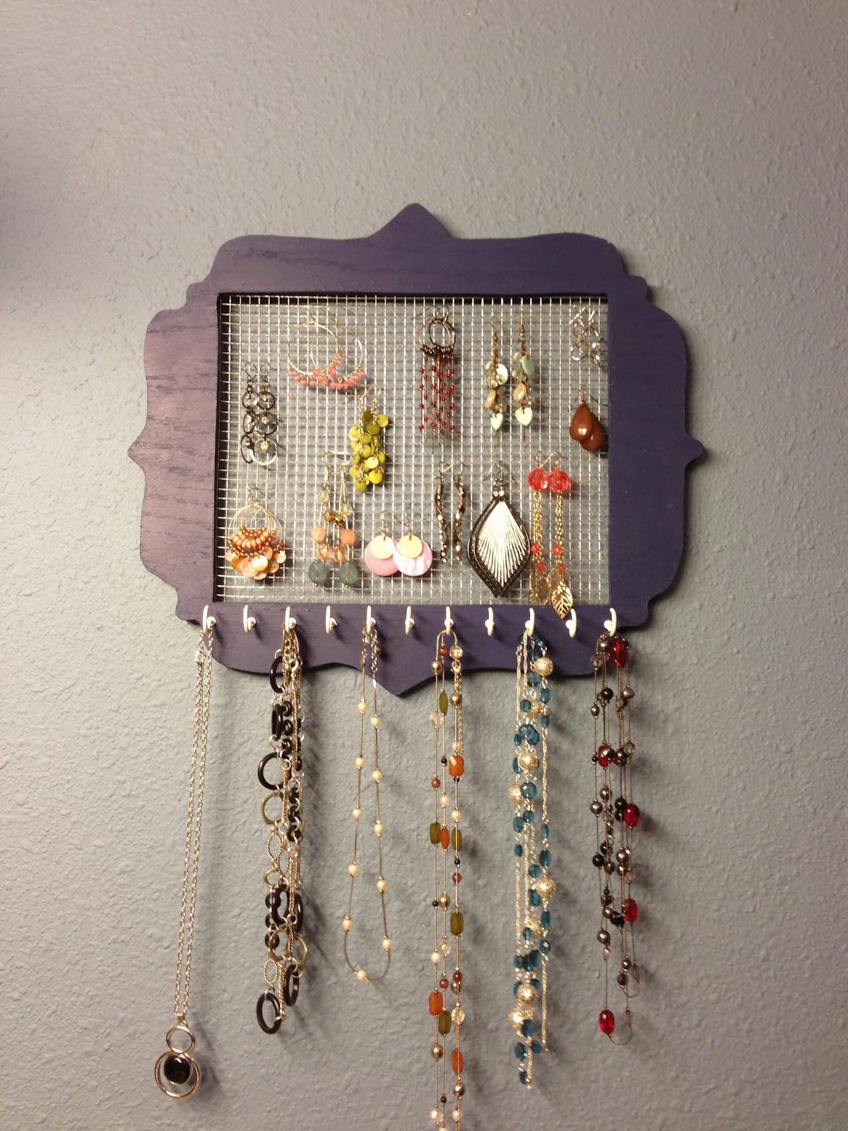 Wilker Do39s Diy Jewelry Holder