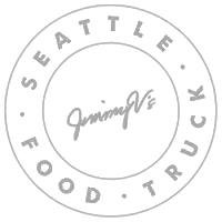 Jimmy Vs Seattle Food Truck Badge Graphic