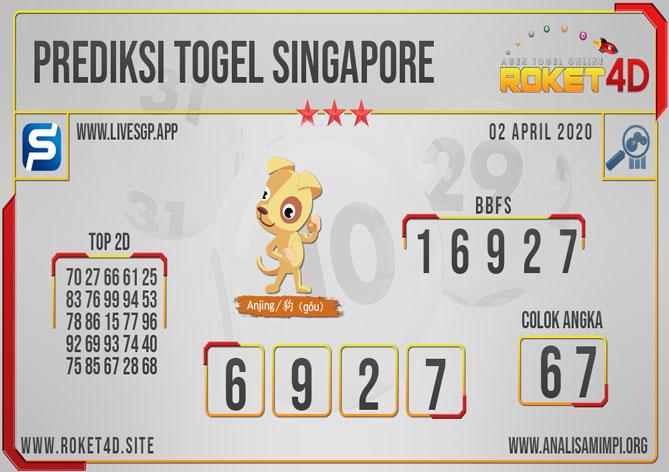 PREDIKSI TOGEL SINGAPORE ROKET4D