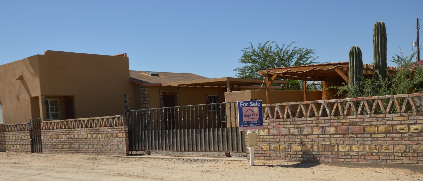 San Felipe Baja California Mexico Real Estate Updates and News Great Home in Petes Camp