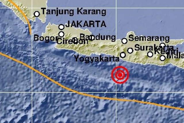 Gempa 5,8 SR Guncang Yogyakarta, Warga Tersentak dari Tidur