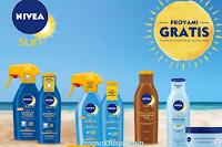 Logo Nivea Sun ti rimborsa il Solare più caro