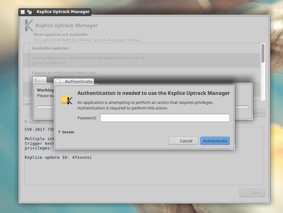 PC/OpenSystems LLC: KSplice Uptrack - kernel updating is necessary