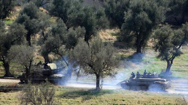 Ejército sirio envía tanques hacia Guta y bombardea a terroristas