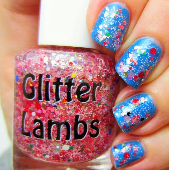 "Glitter Lambs ""Christmas Jelly Roll"" worn by @Jennifer54902"