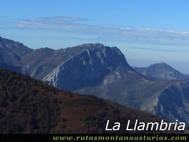 Ruta Víboli Peña Subes y Sen Mulos: Llambria desde Peña Subes