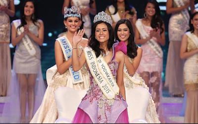 Maria Harfanti Miss Indonesia Tahun 2015
