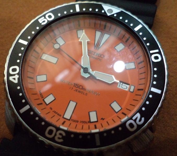 JACKPOT KUSTOM KLOTHING: Seiko Diver 7002-7009 Wrist Watch