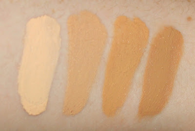 Maybelline Master Conceal Camouflaging Concealer 10 Fair 0 Light/Medium 40 Medium 50 Medium/Deep review swatches