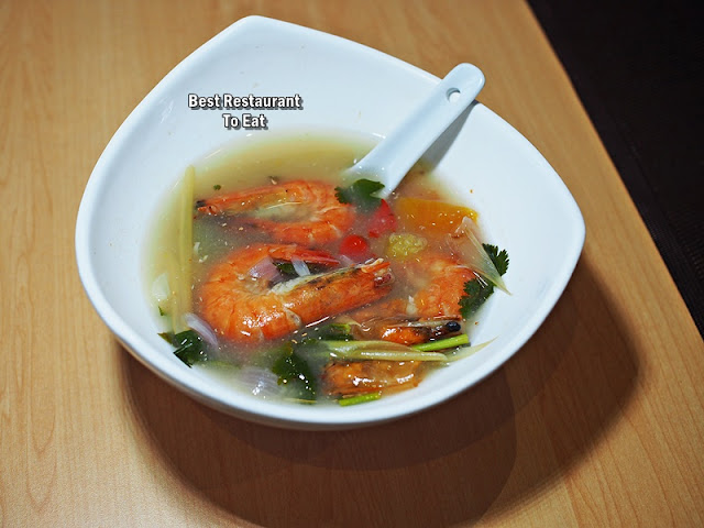 Clear Seafood Tom Yum Kung