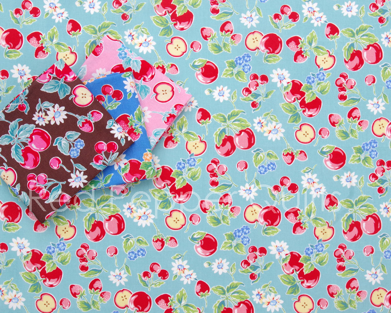 Orchard Kitchen by Lecien | © Red Pepper Quilts 2018