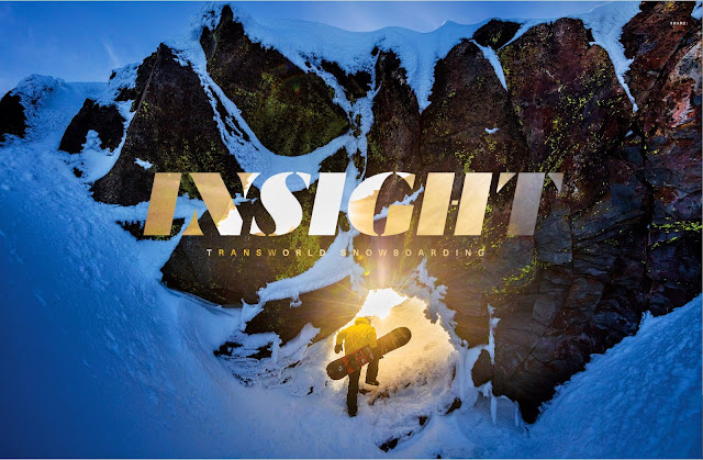 Transworld snowboarding magazine movie josh dirksen.