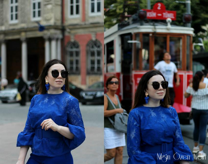 diktiklerim-bluzler-bluzlar-Balon Kollu Bluz Dikimi-dikiş blogu
