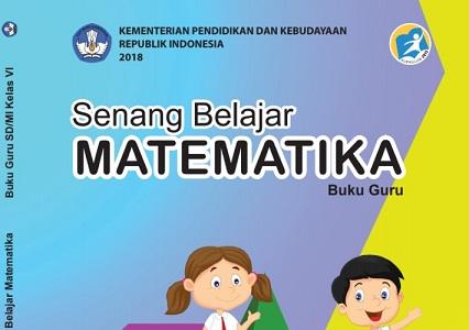 Download Buku Matematika Kelas 6 K13/Kurikulum 2013 Edisi Revisi 2018 Pdf