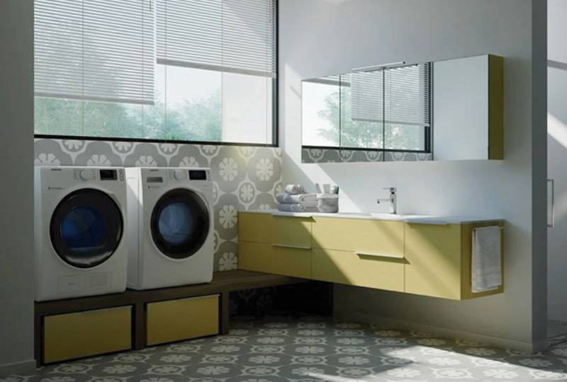 Estetica e funzionalità per la zona lavanderia dettagli home decor