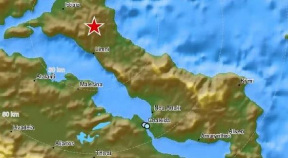 Σεισμός στην Εύβοια-Κουνήθηκαν πολλές περιοχές της Αθήνας
