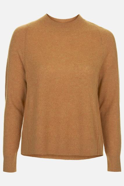mustard cashmere jumper
