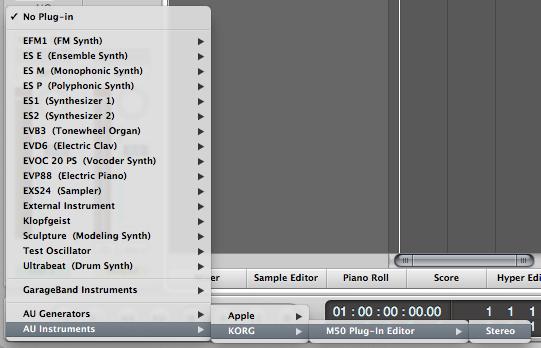 로직에서 M50을 이용한 MIDI 녹음 #1 - Seorenn Invalids