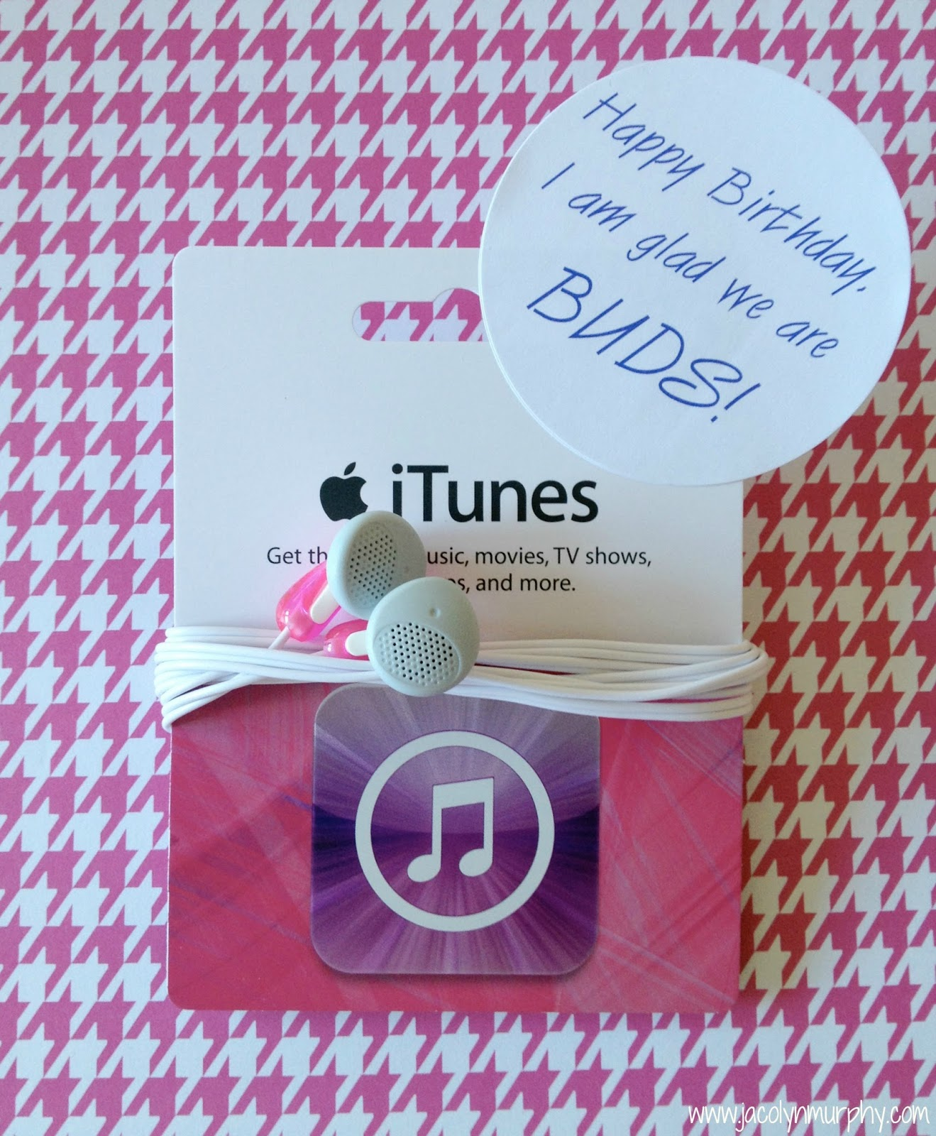 Jac O Lyn Murphy Wrap Music 3 Fun Ways To Package Itunes Gift Cards