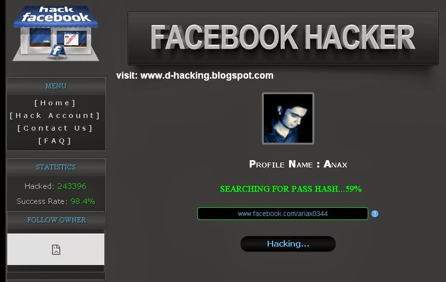 Fake Facebook Scripti - YusufNumLock