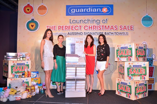 Perfect Christmas Sale at Guardian, guardian malaysia, guardian, christmas, sale, Aussino Signature Bath Towels, Redemption Programme, Bio Essence, Lennox, L'Oreal, Nivea
