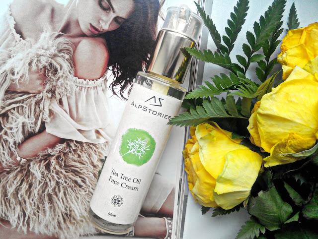 AlpStories Tea Tree Oil Face Cream Крем для лица с маслом чайного дерева