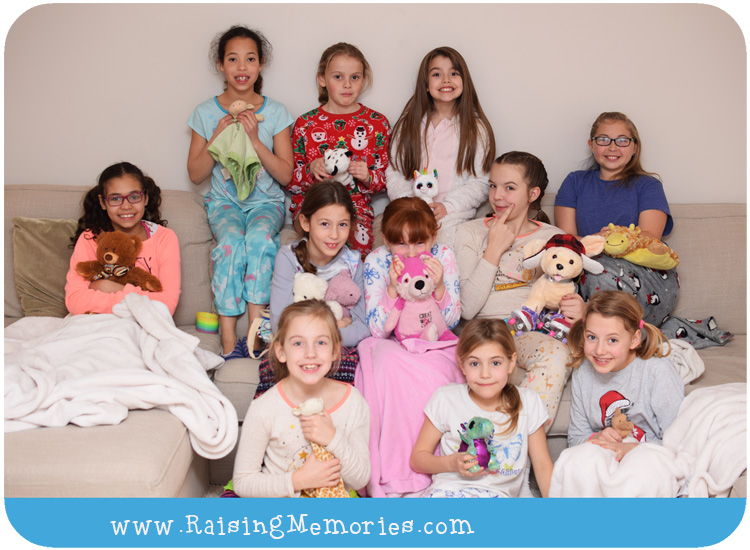 Un Birthday Pajama Party for LDS Activity Days