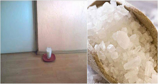 Put A Glass Of Water With Grain Salt And Vinegar In Any Part Of Your House. After 24 Hours, You'll Be Very Surprised!