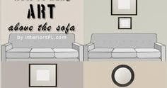 Designing Home Thursday Tip 12 Art Above The Sofa