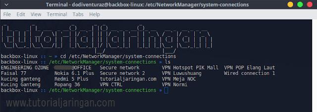 Cara Melihat Password WiFi Yang Tersimpan di Linux Melalui Terminal