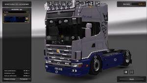 Truck - Scania 164L & Krone Trailer