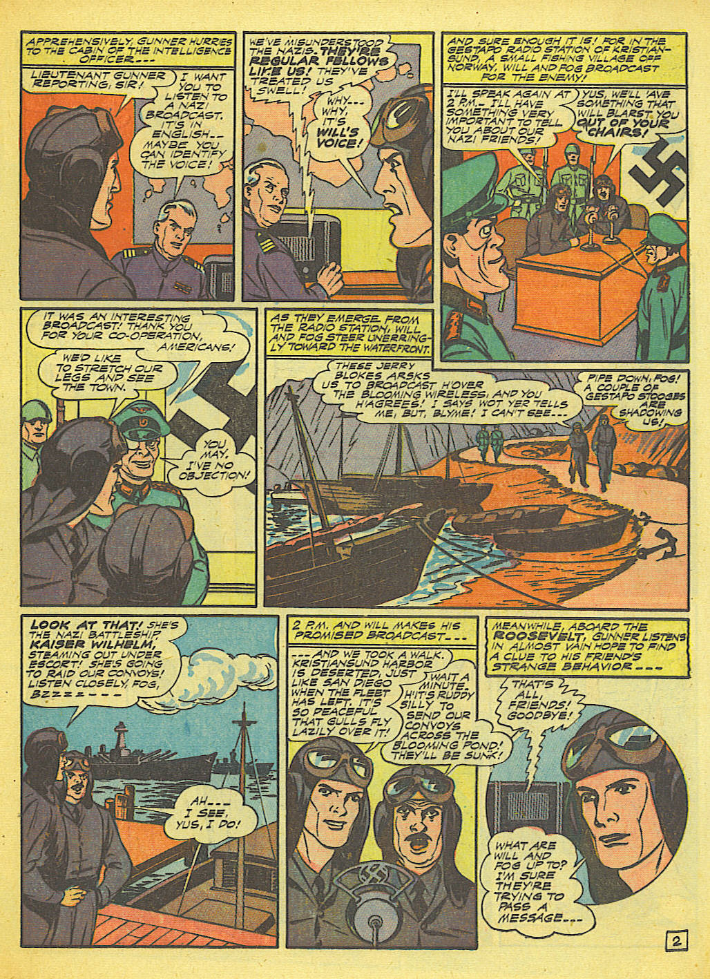 Read online Action Comics (1938) comic -  Issue #58 - 28