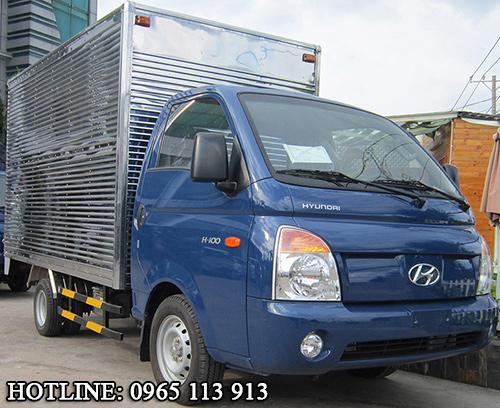 Hyundai H100 Xe tải 1 tấn thùng kín