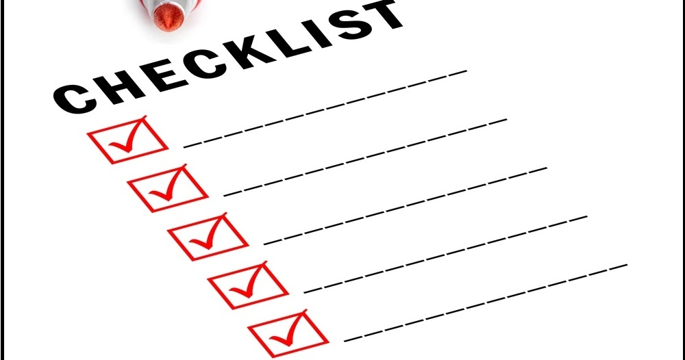 hvac installation inspection checklist forms excel sheets