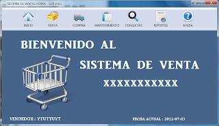 SISTEMA DE VENTA XXX