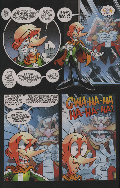 Read online Sonic The Hedgehog comic -  Issue #210 - 12
