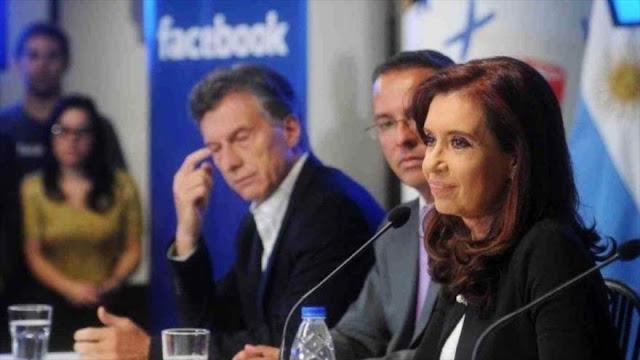 "Cristina Fernández denuncia fallo de Justicia: ""Fue a pedido de Macri"""
