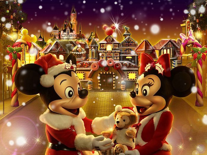 Cartoon Tattoo Pictures: Disney Mickey Mouse Christmas